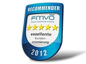 Top-Note beim Recommender Award